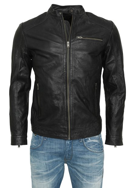 SELECTED SHNNewTylor Leather Jacket