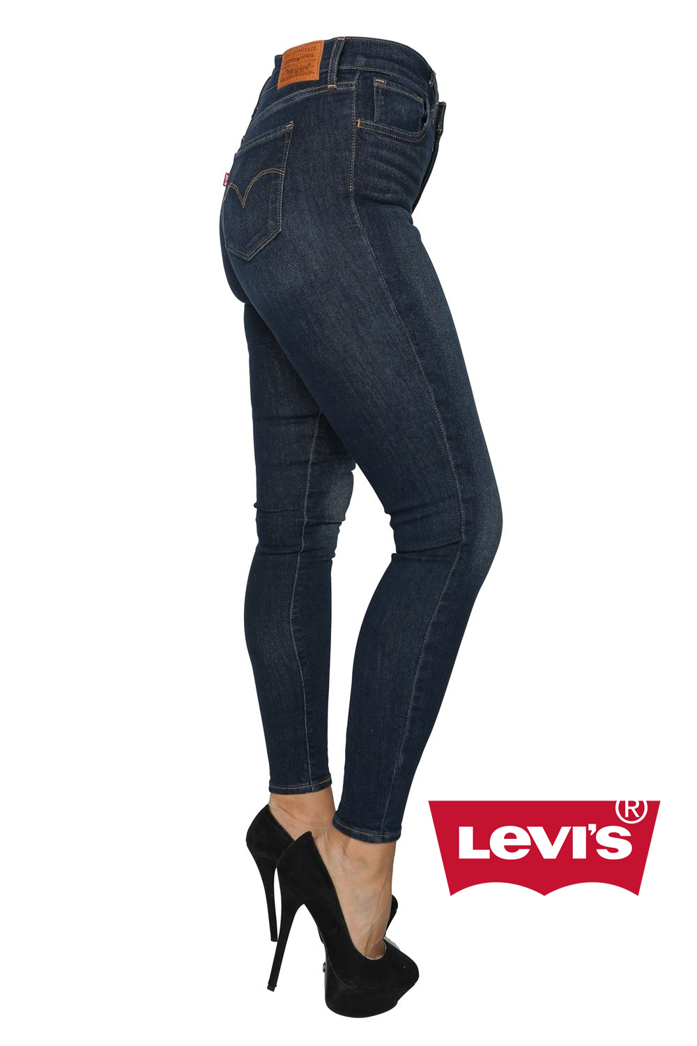 levis 720 high rise super skinny jeans