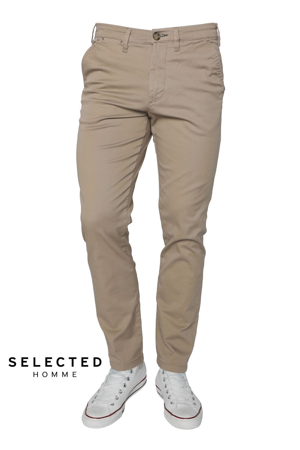 Slim-Miles Chinos Selected Homme chinos