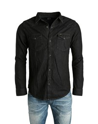 LEE Western Shirt Pitch Black