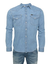 LEE Lee Western Shirt Stone Bleach