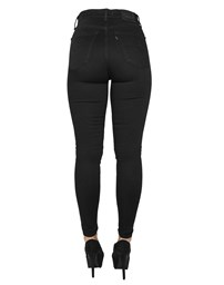 LEVIS Mile High Super Skinny Black Galaxy Jeans