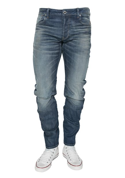 G-STAR Arc 3D Slim Joane Stretch Worker Blue Faded Jeans