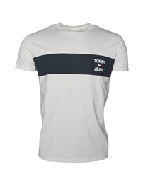 HILFIGER DENIM TJM Chest Stripe Logo Tee