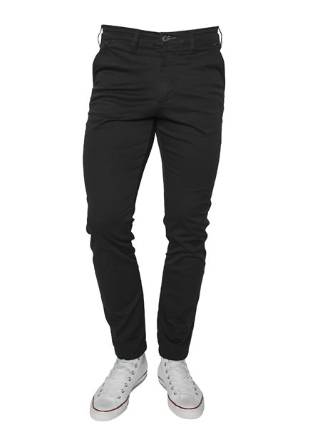 SELECTED SLHSlim-Miles Flex Chino Pants Black