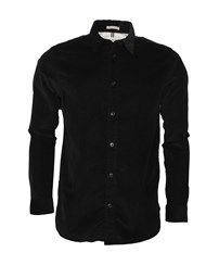 SELECTED SLHRegHenley-Cord Shirt LS W